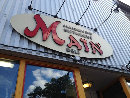 The Main Deli Steak House: Awning
