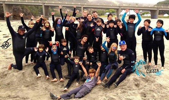 Van Curaza Surf School: SURF CAMP FUN!!!