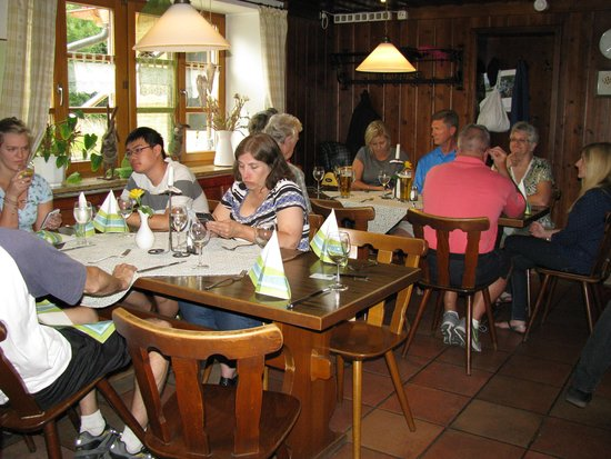 Gasthof Hotel Daimerwirt: Large area for groups to eat