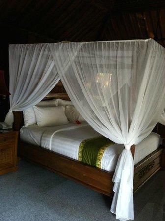 Ayung Resort Ubud: La cama
