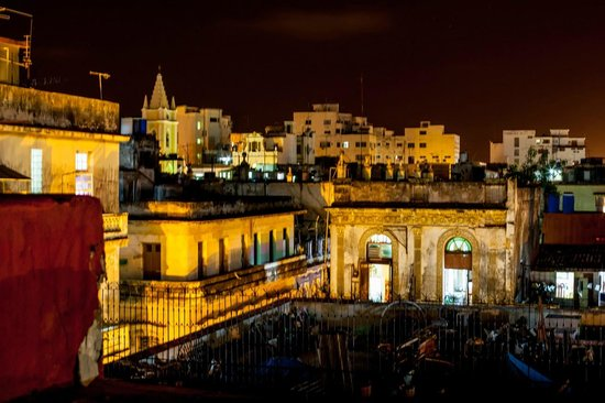 Casa Habana: Vista desde la terraza