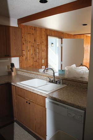 Lake Condominiums: kitchen sink / counter top