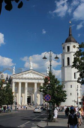 Catedral (Arkikatedra Bazilika): Katedros aikštė