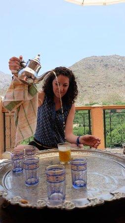Marrakech  Private Tours: tea ceremony at Imlil