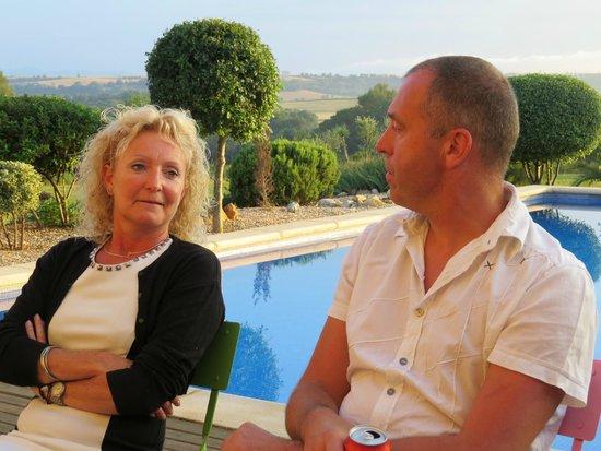 Can Patiras: uitbaters Chrisje & Bart