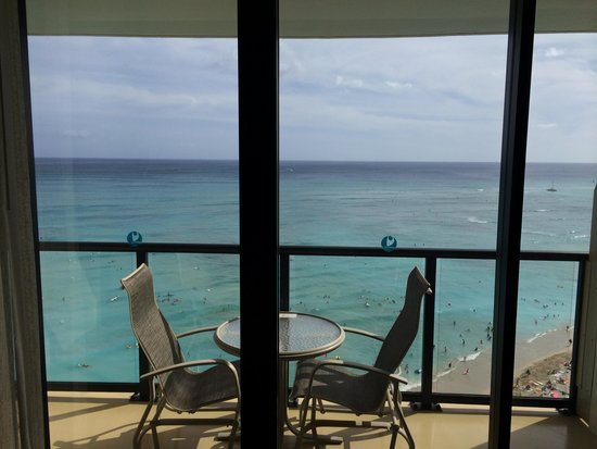Outrigger Waikiki Beach Resort : Balcony