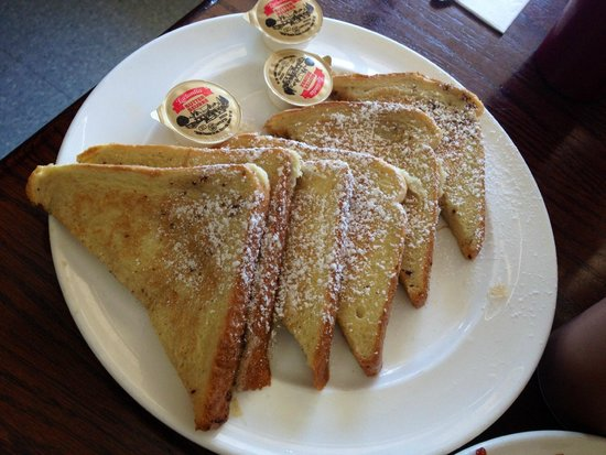 Scoops Restaurant: 3 piece French Toast meal ( approx. $6-$7)