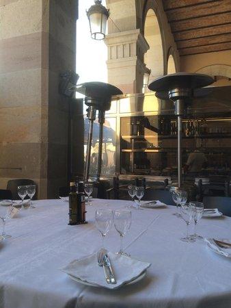 La Gavina : Notre table