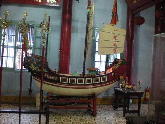 Fukian Assembly Hall (Phuc Kien): La giunca