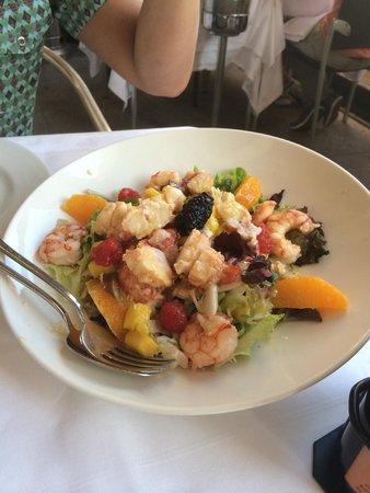 La Gavina : Salade de homard