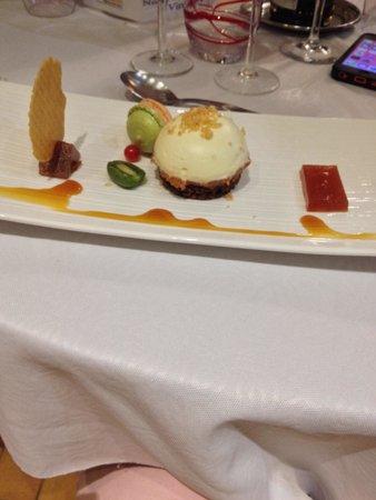 Hotel Le Clos : Merveilleux dessert
