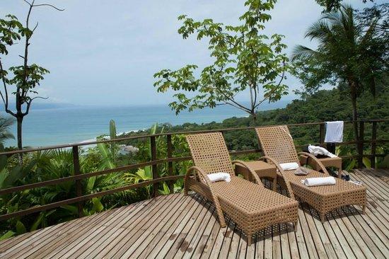 Lapa Rios Ecolodge Osa Peninsula: view from the pool