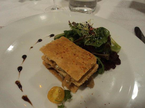 Restaurant Le Chalut : Un délicieux feuilleté que l'on oublie pas !