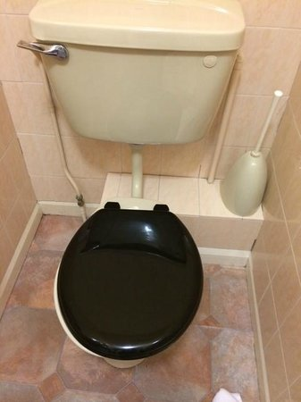 Great Western Hotel : toilet from 1970's