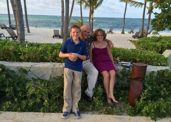 Premium Level at Barcelo Bavaro Palace: my family and I beach front