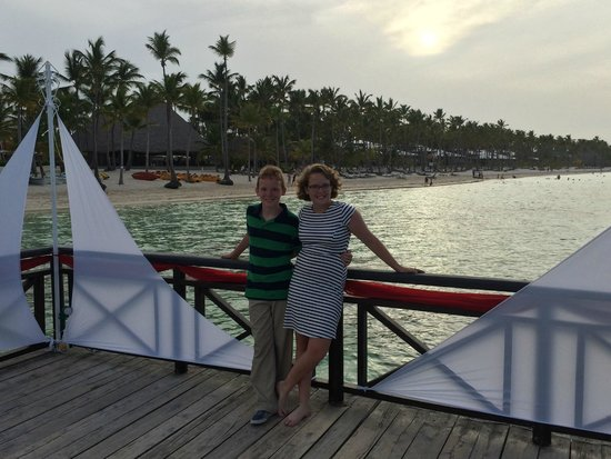Premium Level at Barcelo Bavaro Palace : beach front pier