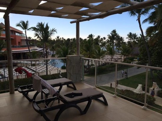 Premium Level at Barcelo Bavaro Palace : master suite balcony view
