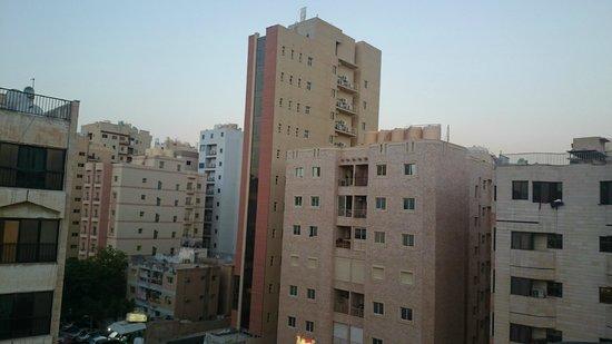 Salmiya Casa Hotel Apartments: view from 5th floor