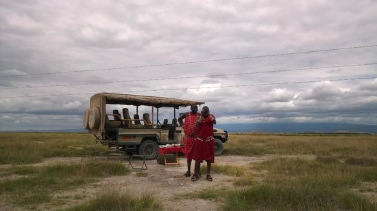 Porini Amboseli Camp: Wilson and Julius!! Amboseli