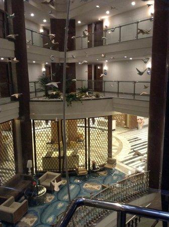 Nirvana Lagoon Villas Suites & Spa : Верхний корпус - из лифта