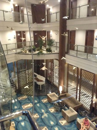 Nirvana Lagoon Villas Suites & Spa : Фойе