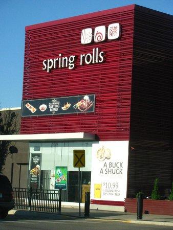 Spring Rolls Entrance