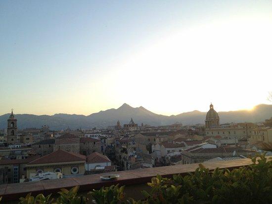 Ambasciatori Hotel: Roof terrace view