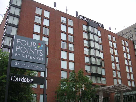 Four Points by Sheraton & Conference Centre Gatineau-Ottawa : hotel Four points by sheraton Gatineau