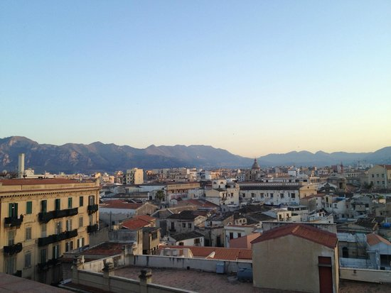 Ambasciatori Hotel: View from the roof terrace