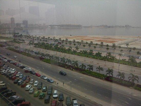 Hotel Presidente Luanda: View from restaurant/room