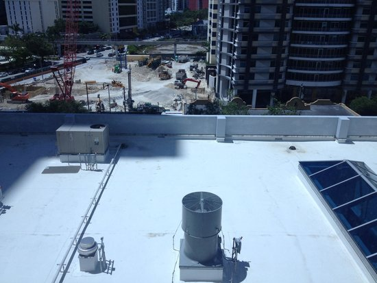Hampton Inn & Suites by Hilton - Miami Brickell Downtown: This was our great view