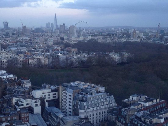London Hilton on Park Lane: Another stellar view.