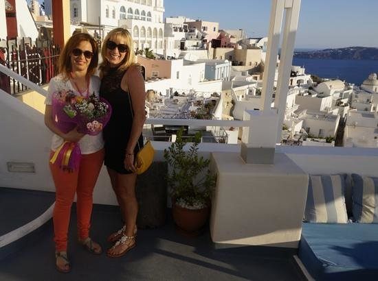 Iriana Rooms and Apartments: Iriana & Karen, May 2014. Had a fabulous stay, great view! x