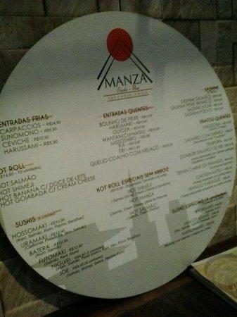 Manza Sushi Bar