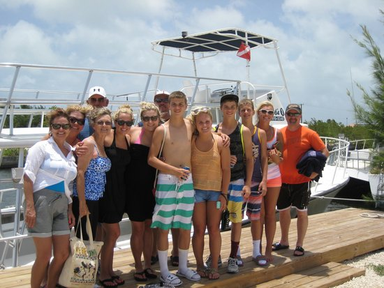 Captain Bryan's Sail and Snorkle Tours: Oklahoma!