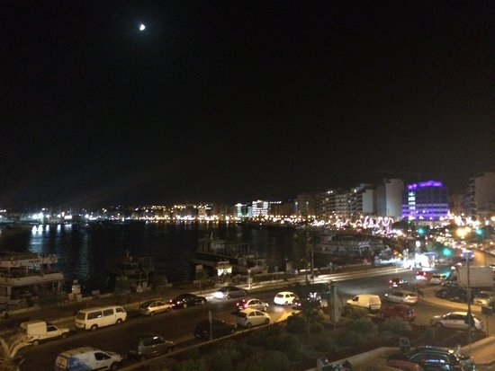 Sliema Marina Hotel: View from the balcony