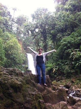 Vista Ballena Hotel: Waterfall