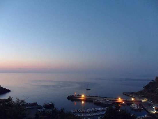 Sogni Nel Blu: Sunrise on the roof terrace