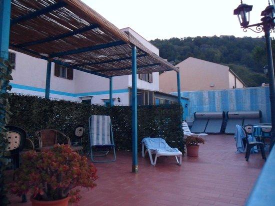 Sogni Nel Blu: Roof terrace