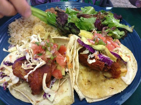 Sophia's Place: Fish Tacos