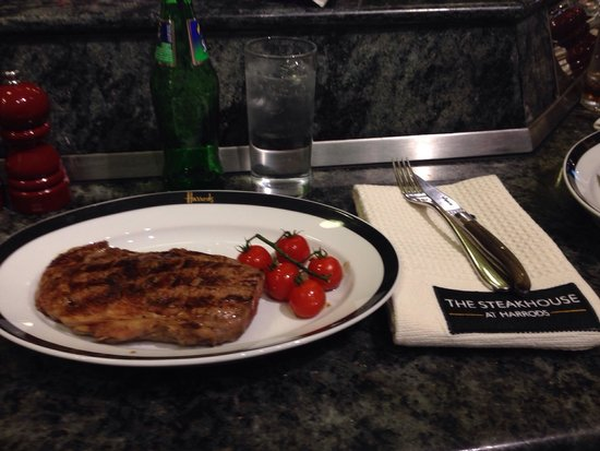 Harrods Steakhouse: Delicious!