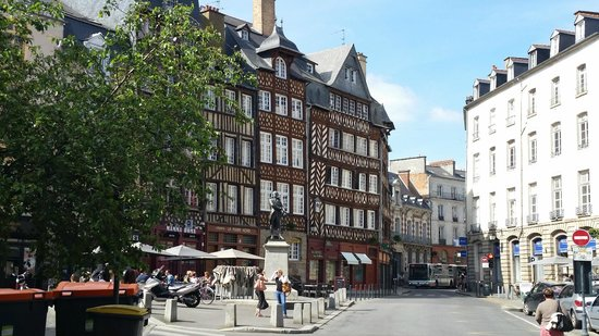 Angelina Hotel: Medieval section of Rennes