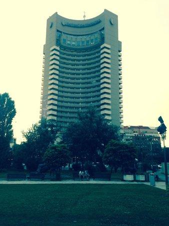 InterContinental Bucharest: streetview