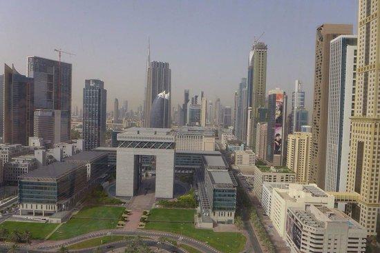 Jumeirah Emirates Towers: Vue de notre chambre