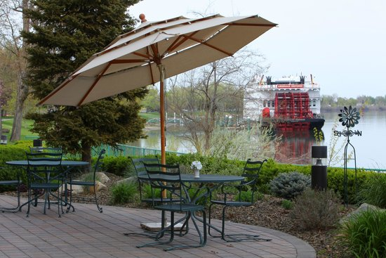 Hampton Inn Richland / Tri-Cities: Riverview Patio