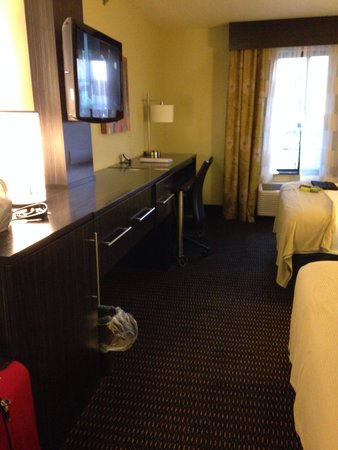 Holiday Inn Express Hotel & Suites Marion: Tv