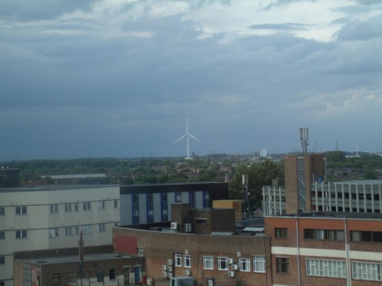 Holiday Inn  Express Hull City Centre: View from the side of the fourth floor