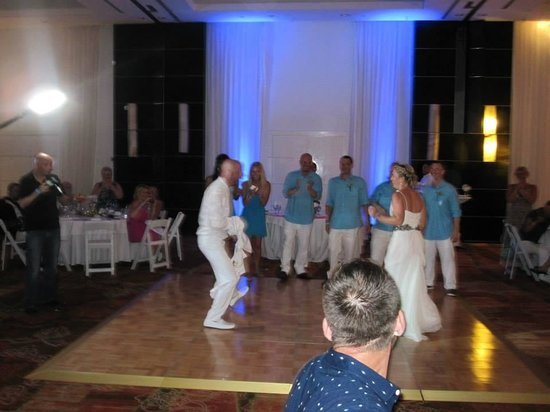 Playacar Palace: Ballroom - wedding reception