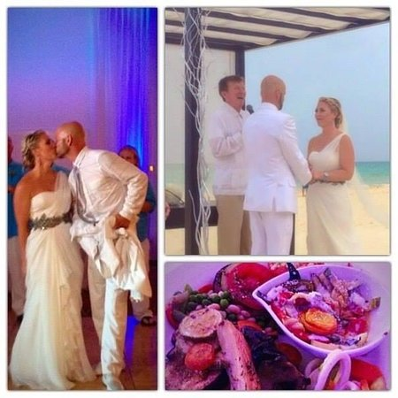 Playacar Palace: ceremony and food