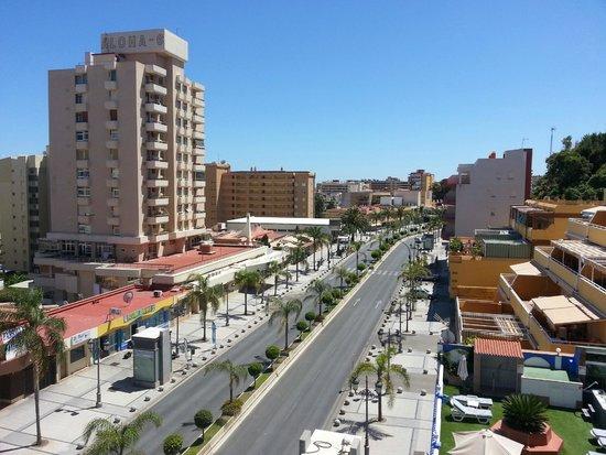 Hotel Princesa Solar: Widok z tarasu